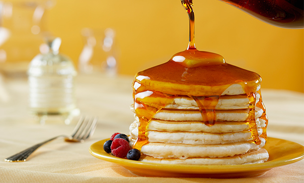 Top off those flapjacks with some PA maple syrup!