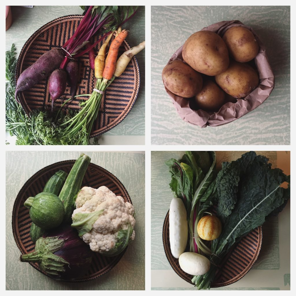 ORGANIC produce shares- now available by the week from Tilling Point!!!!